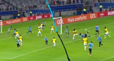 El golazo de Cavani en la goleada de Uruguay sobre Ecuador en la Copa América