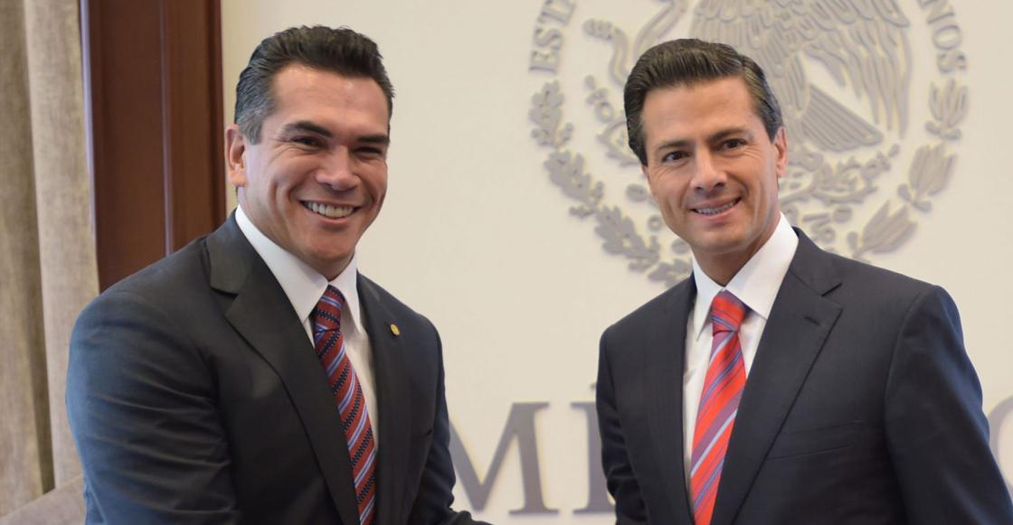 Alejandro Moreno y EPN