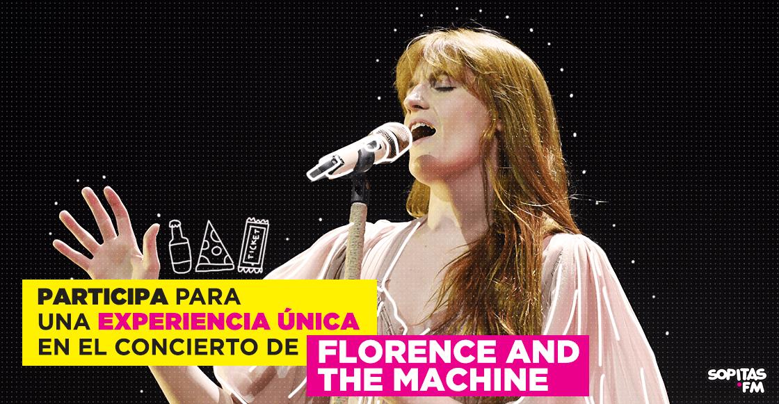 ¡Participa para una experiencia inolvidable en el concierto de Florence + The Machine!