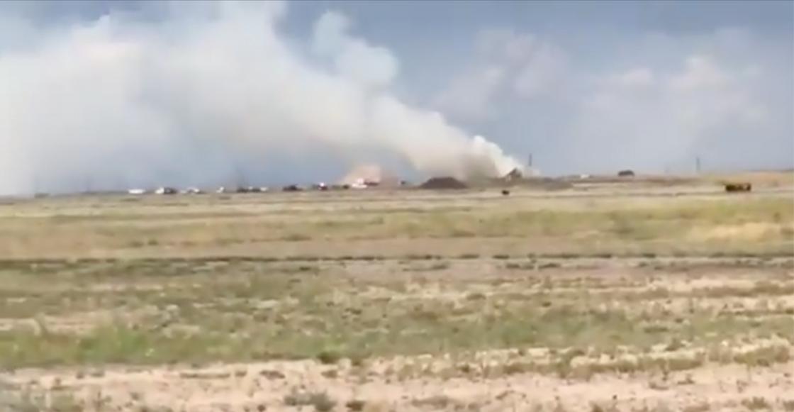 Se registró una explosión cerca del aeropuerto Roswell, en Nuevo México