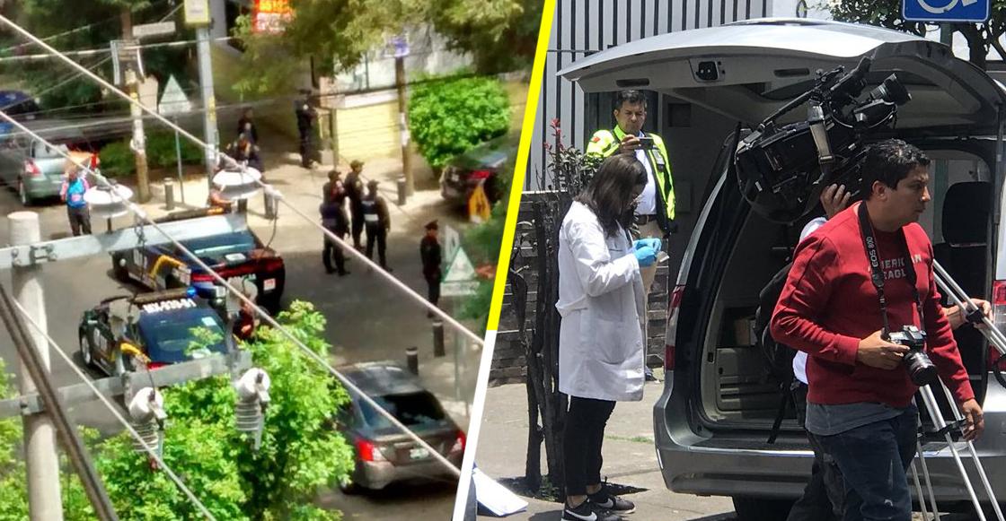 Reportan explosión afuera de la casa de Martí Batres; fue un cristalazo a la camioneta de su suegra