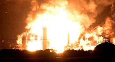 Captan en video la explosión de la refinería más grande de Filadelfia