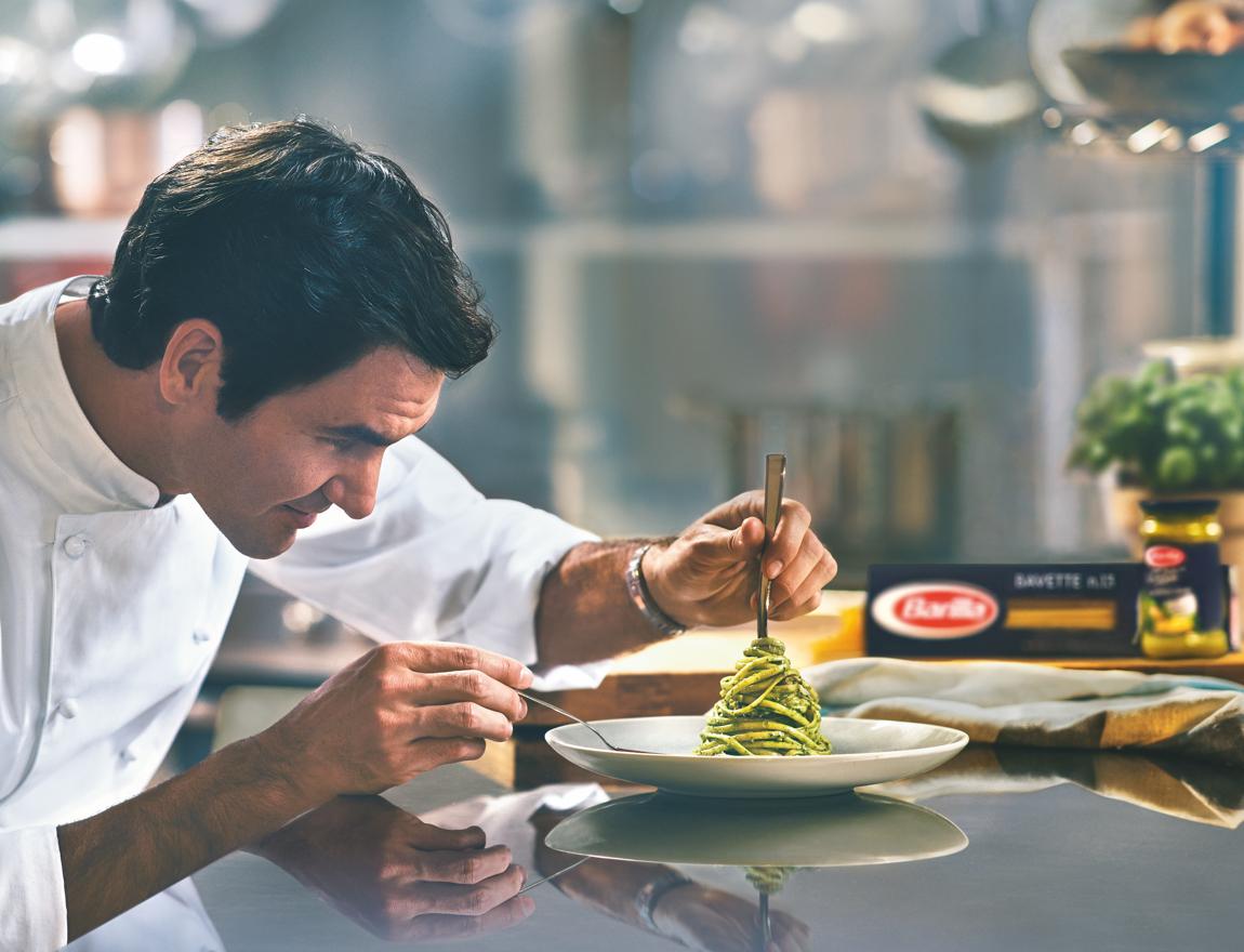 La dieta de Roger Federer para mantenerse en la cima del tenis
