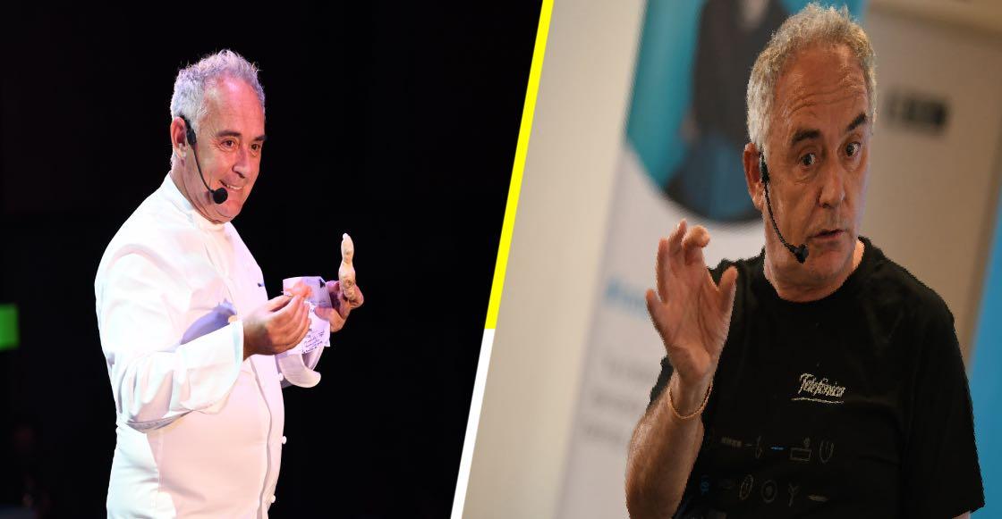 ¿Qué es innovación para Ferran Adriá, uno de los chefs más innovadores de los últimos tiempos?