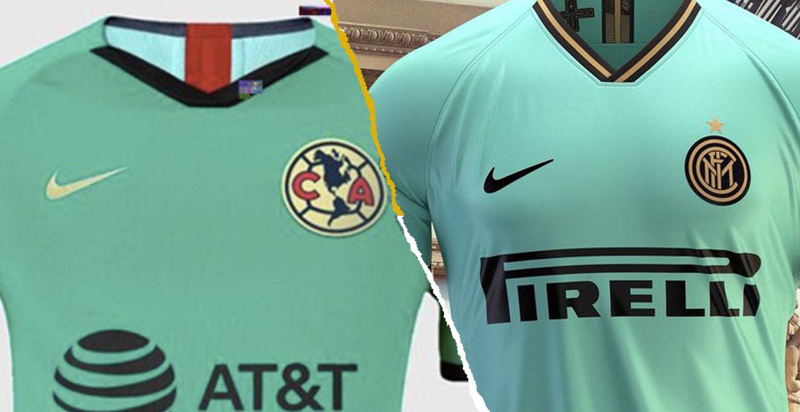 Filtraron el nuevo uniforme verde del América que sería... ¿igual al del Inter?