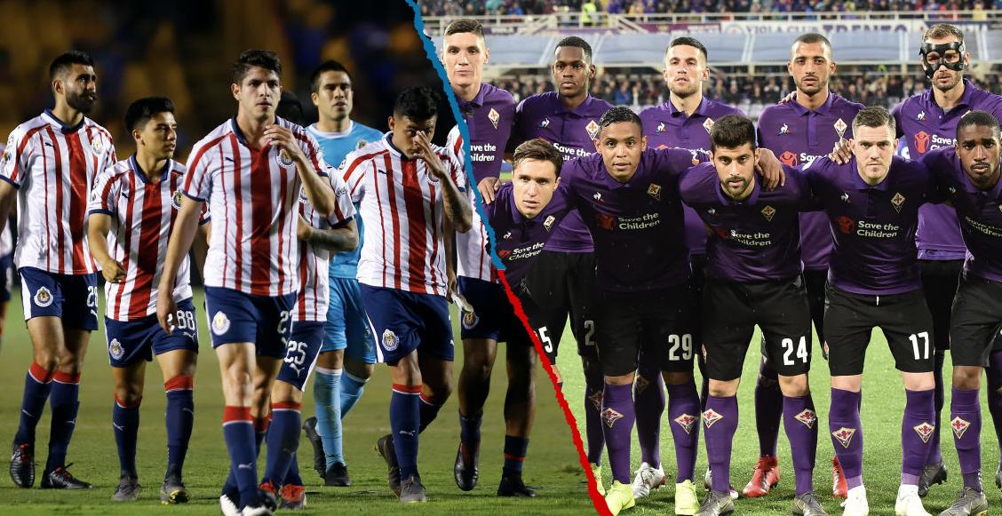 Fiorentina reemplaza a la Roma como rival de las Chivas en la International Champions Cup