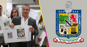 ¡Qué ambientalistas! Diputado de Nuevo León propone quitarle las fumarolas al escudo