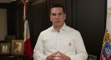 Alejandro Moreno, gober de Campeche, solicita licencia a su cargo