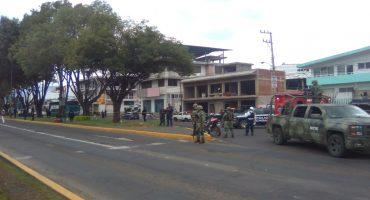 Una granada explotó en el porta equipaje de un autobús en Michoacán