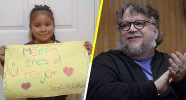 Ternura nivel: Niña le manda mensaje a Guillermo del Toro y éste le responde 😭❤️