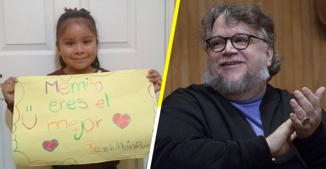 Ternura nivel: Niña le manda mensaje a Guillermo del Toro y este le responde