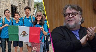 ¡Los niños a los que Guillermo del Toro apoyó ganaron oro en Olimpiada de Matemáticas!
