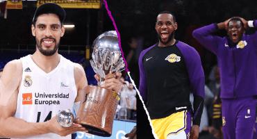 Gustavo Ayón deja al Real Madrid y suena para regresar a la NBA... ¡con los Lakers! 😱