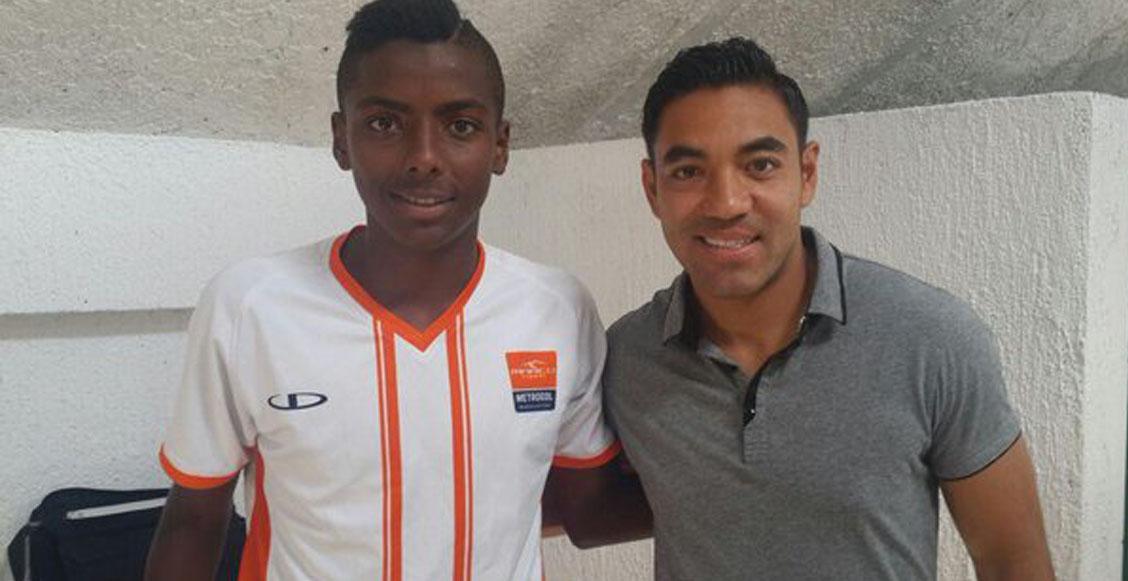 El día que Marco Fabián ayudó a Joao Maleck a convertirse en futbolista