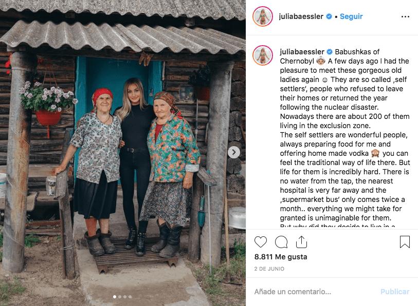¿Una falta de respeto? Influencers posan en Chernóbil para conseguir más seguidores