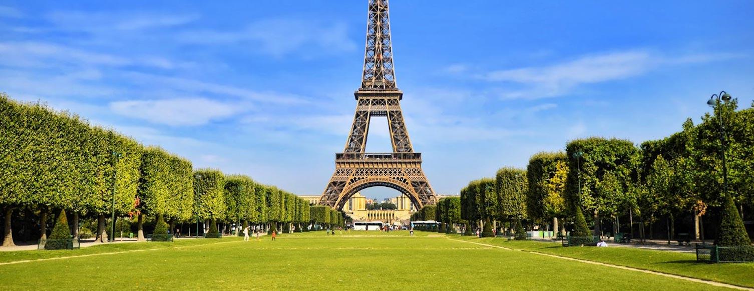 Así será el nuevo parque de la Torre Eiffel