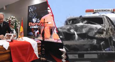 Primeros reportes indican que el auto de José Antonio Reyes viajaba a 237 km/h