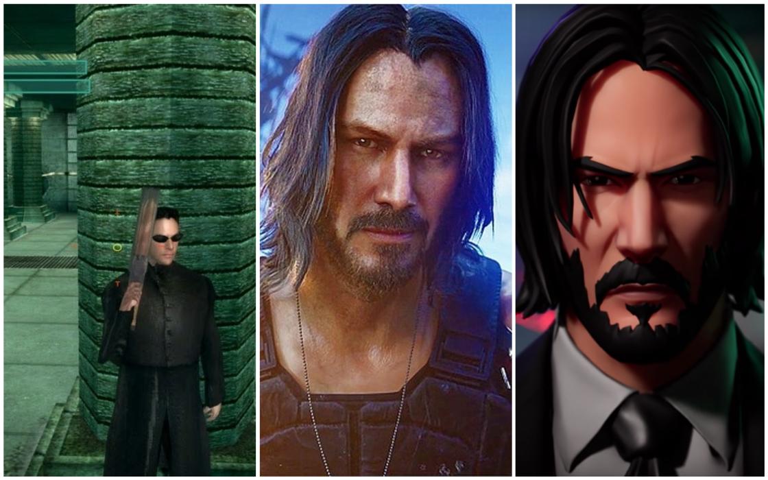 Videojuegos protagonizados por Keanu Reeves