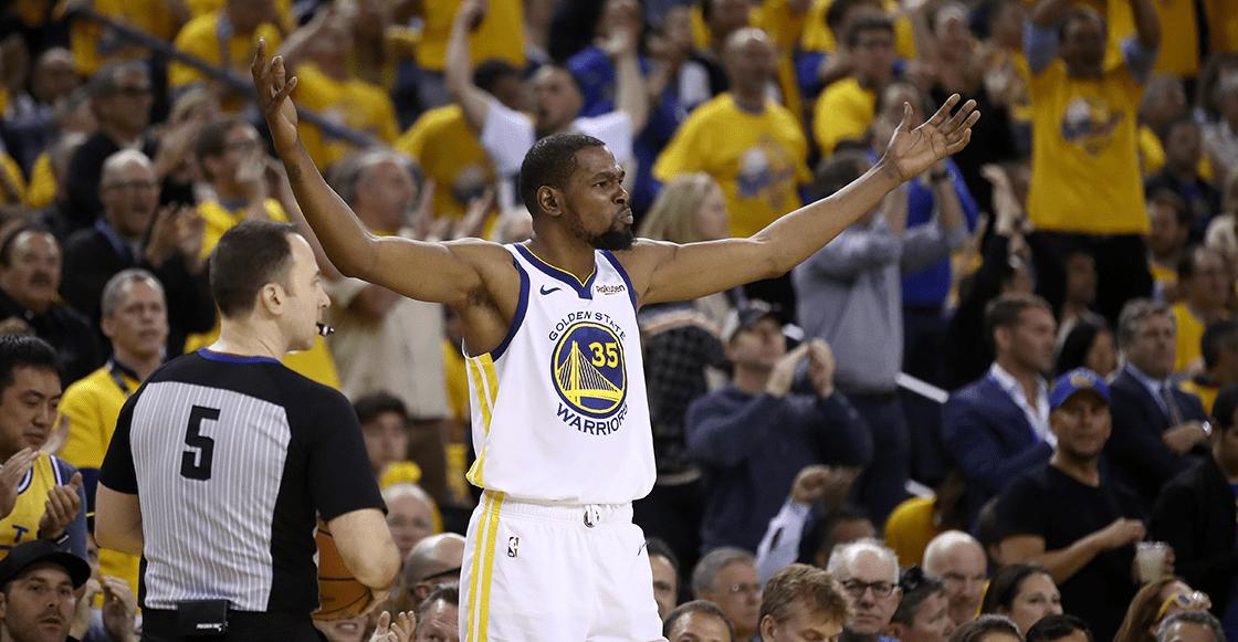 Kevin Durant rechazó 31.5 millones de dólares para seguir con Golden State