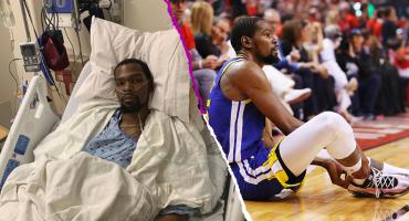 Kevin Durant ya fue operado del tendón de Aquiles y no volvería a jugar lo que resta del año