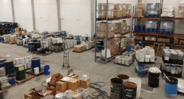 Con todo y probetas, aseguran narcolaboratorio de fentanilo en Nuevo León