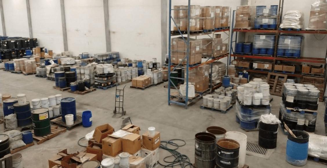 Aseguran narcolaboratorio de fentanilo en Nuevo León