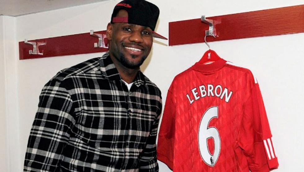 El motivo por el que LeBron James sería campeón de la Champions League con el Liverpool