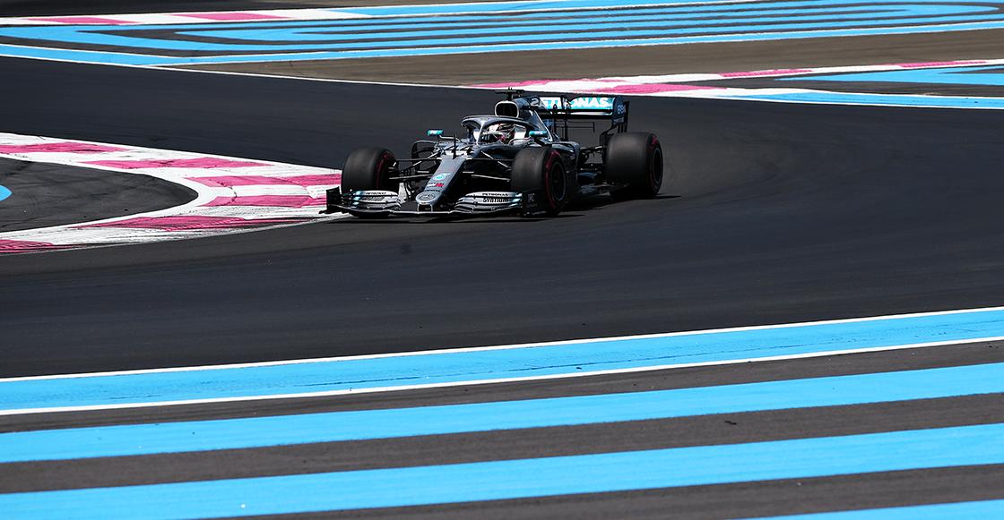 Hamilton se adueña una vez más de la pole position en el Gran Premio de Francia