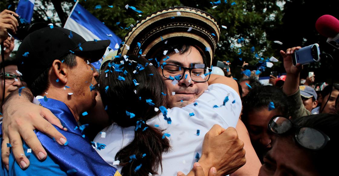 Después de un año, Nicaragua libera a 56 detenidos en protestas contra el régimen