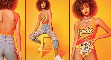 Línea de ropa inspirada en Cheetos