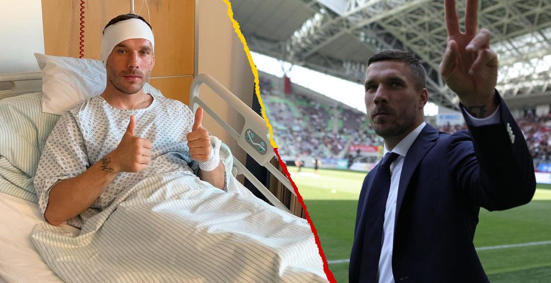 ¡Bye Rayados! Podolski fue operado del oido y pone 'pausa' a su carrera indefinidamente