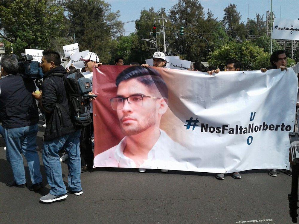 Encuentran sin vida a Norberto Ronquillo, estudiante de la Universidad del Pedregal