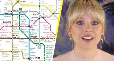 Very nice: Alguien tradujo al inglés el mapa del Metro de la CDMX y está increíble ❤️