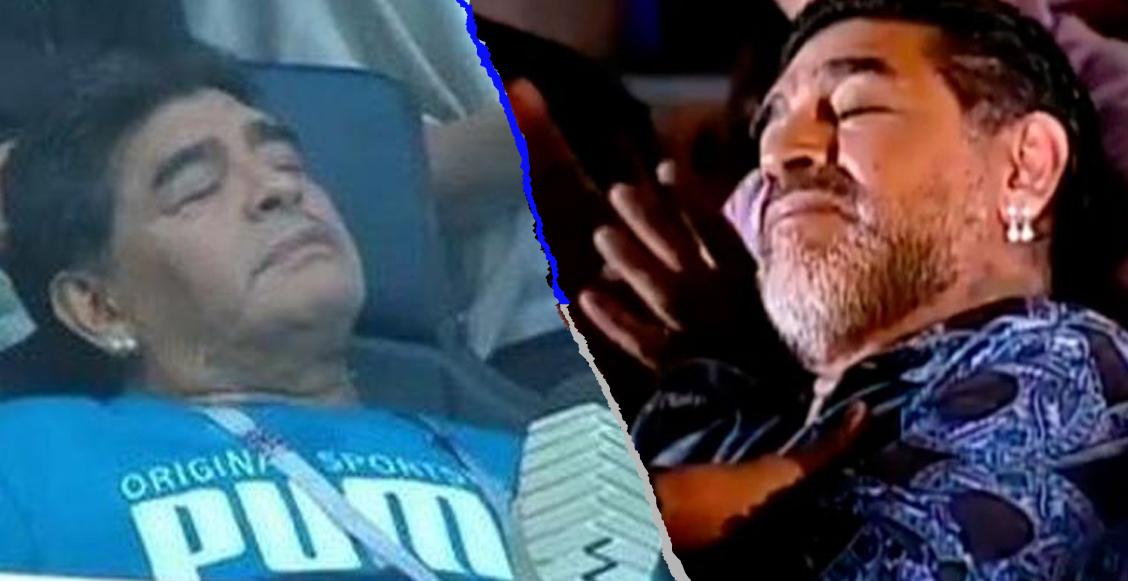 ¡Qué envidia! Maradona estará dormido por 4 días para cuidar su salud