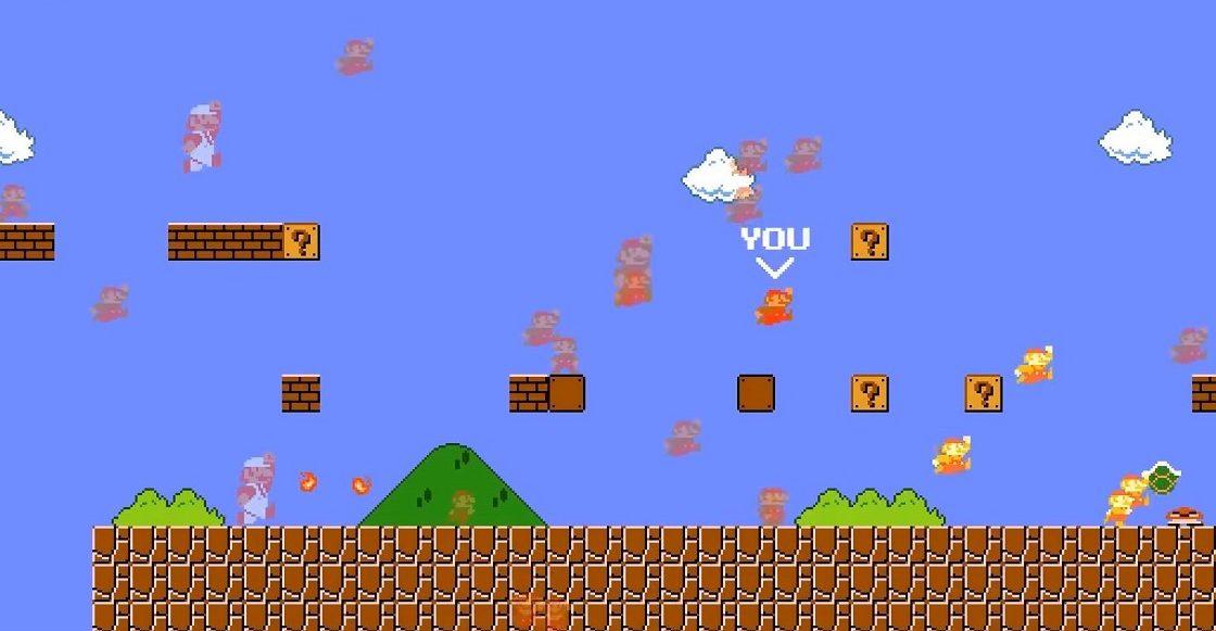 Super Mario Bros - Versión en Battle Royale