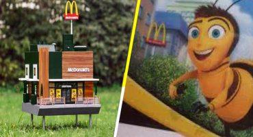La dulce historia detrás del McDonald's más pequeño del mundo