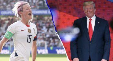 Megan Rapinoe le respondió a Donald Trump: