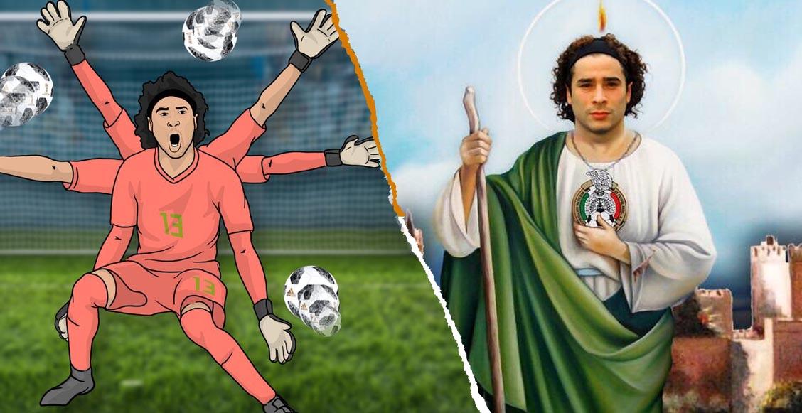 La afición mexicana se rindió ante 'San Memo Ochoa' y su atajada de héroe