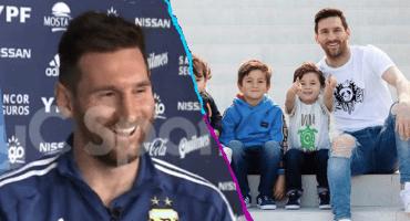 Uno de los hijos de Messi se hace aficionado del Liverpool y del Real Madrid 藍