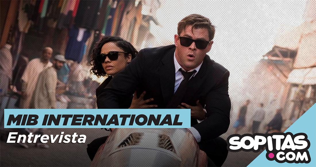 Platicamos con Chris Hemsworth sobre el regreso de los Men In Black en 'MIB: International'