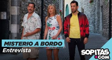 'Sólo veo mis películas'  Entrevistamos a Adam Sandler y Luis Gerardo Méndez por 'Misterio a bordo'