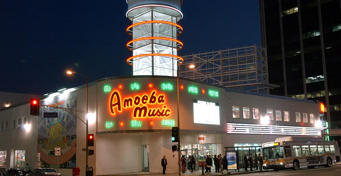 ¡Atención! La mítica tienda de discos Amoeba Music NO cerrará sus puertas