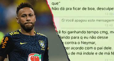 Mujer que denunció a Neymar asegura que el futbolista es adicto a las drogas