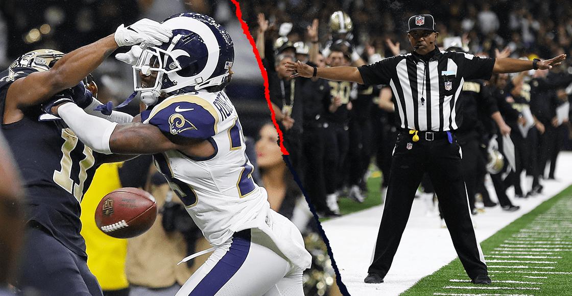 La NFL hará revisión de interferencias de pase — Oficial