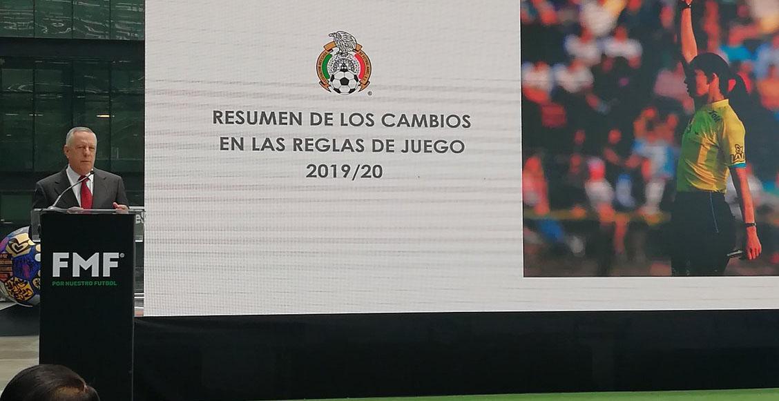 Estas son las 'nuevas reglas' que entrarán en vigor para el Apertura 2019