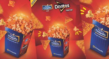 ¡Llegaron las palomitas con Doritos Nacho a Cinepolis!