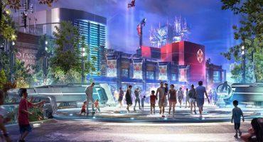 Parque temático de Marvel el Disneyland