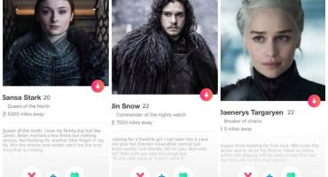 Love is coming: ¡Checa los perfiles de Tinder de personajes de 'Game of Thrones'!