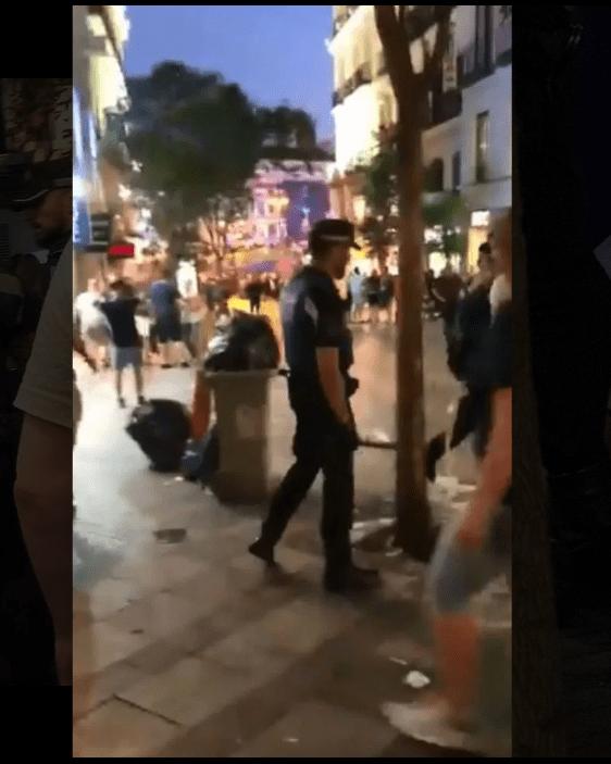 "Policía de Madrid golpeó a fans del Tottenham en un bar ""sin ningún motivo"""
