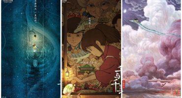 El arte dentro de la fantasía: ¡Mira los pósters de películas de Studio Ghibli!